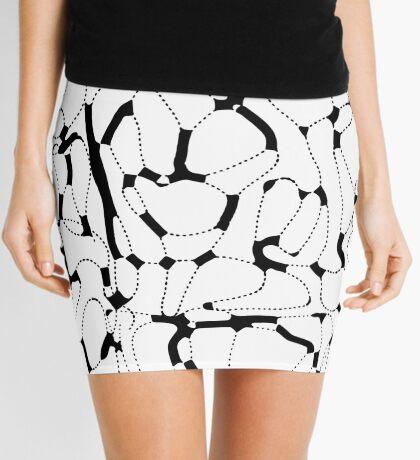 Ink Fantasy. Pattern 7 Mini Skirt