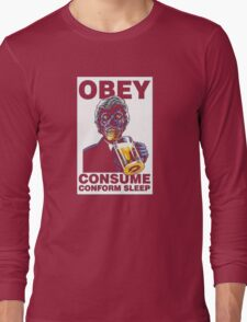Obey Consume Long Sleeve T-Shirt