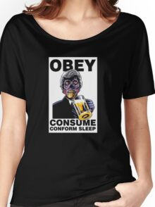 Obey Consume Women's Relaxed Fit T-Shirt