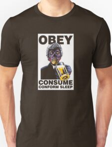 Obey Consume Unisex T-Shirt
