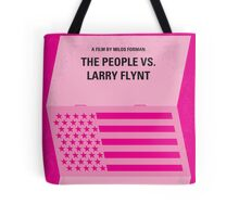 No395 My The People vs. Larry Flynt minimal movie poster Tote Bag