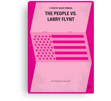 No395 My The People vs. Larry Flynt minimal movie poster Canvas Print