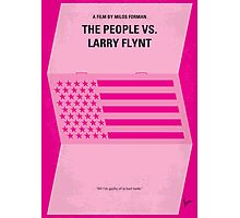 No395 My The People vs. Larry Flynt minimal movie poster Photographic Print