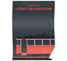 No397 My street car named desire minimal movie poster Poster
