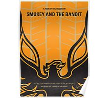 No398 My smokey and the bandits minimal movie poster Poster