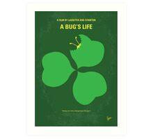 No401 My A Bugs Life minimal movie poster Art Print