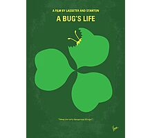 No401 My A Bugs Life minimal movie poster Photographic Print