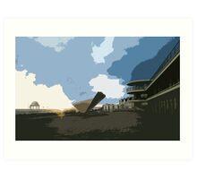 De La Warr Pavilion Bexhill-on-Sea Art Print
