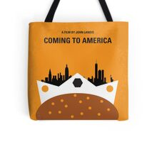 No402 My Coming to America minimal movie poster Tote Bag