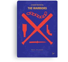 No403 My The Warriors minimal movie poster Canvas Print