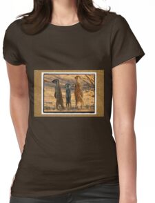 The Three Stooges Womens Fitted T-Shirt