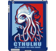 Are You Ready For A Real Chance ? iPad Case/Skin