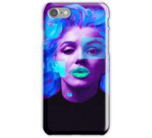 Paradox of Marylin Monroe (purple) iPhone Case/Skin
