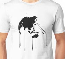Splatter Earth 2 (black) Unisex T-Shirt