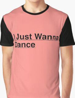 Tiffany I Just Wanna Dance Kpop Graphic T-Shirt