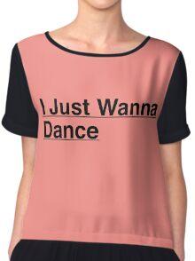 Tiffany I Just Wanna Dance Kpop Chiffon Top