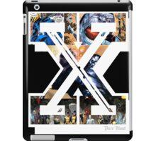 PURE BLOOD XXX STRAIGHT EDGE MEN  iPad Case/Skin
