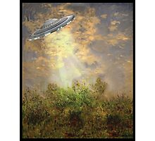 Monet Abduction Photographic Print