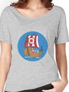 Viking's ship Women's Relaxed Fit T-Shirt