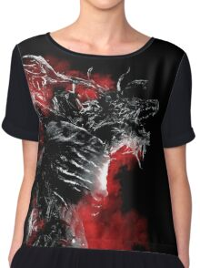 Blood of the Cleric Beast Chiffon Top