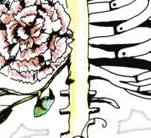 Floral Ribs Sticker