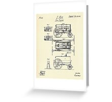 Fire Engine-1845 Greeting Card