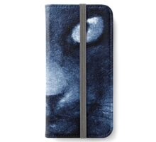 ODESSA LE CHAT BLEU iPhone Wallet/Case/Skin