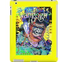 Madness, art, Vincent & graffiti mashup iPad Case/Skin