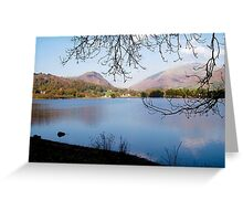 Grasmere, Lake District National Park, UK Greeting Card