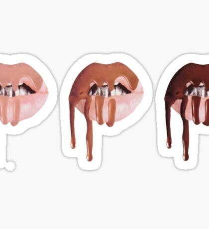 3 Lips Sticker