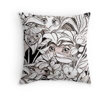Feelers Throw Pillow