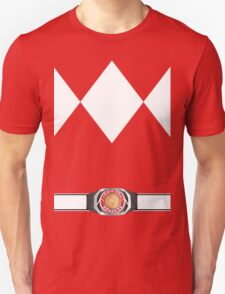 MMPR Red Ranger Uniform Unisex T-Shirt
