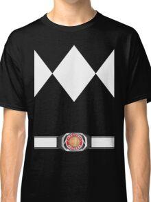 MMPR Black Ranger Uniform Classic T-Shirt