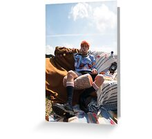 V Young Forever BTS Greeting Card