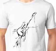 Splatter Guitar (black) Unisex T-Shirt
