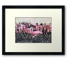 Only one path Framed Print