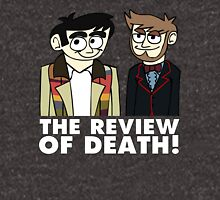 The Review of Death cartoon (artwork by Ewan Wallace) Unisex T-Shirt