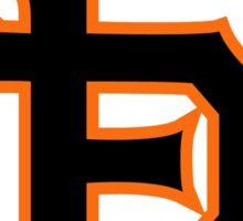 San Francisco Giants logo Sticker