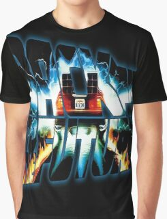 Back to the Future-Time travel Graphic T-Shirt