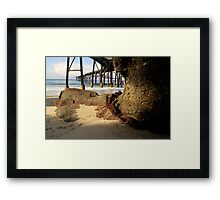 Catherine Hill Bay Jetty No.1 Framed Print