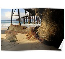 Catherine Hill Bay Jetty No.1 Poster