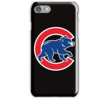 Chicago Cubs logo 2016 iPhone Case/Skin