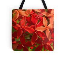 Island Flowers Tote Bag