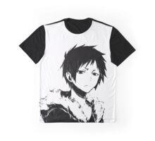 Izaya black and white Graphic T-Shirt
