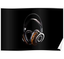 Luxurious Headphones Poster