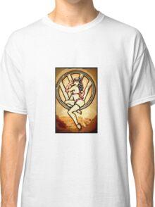 Split screen pin up girl Classic T-Shirt