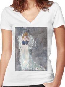 Take me to your heart Women's Fitted V-Neck T-Shirt