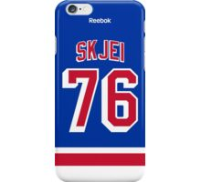 New York Rangers Brady Skjei Jersey Back Phone Case iPhone Case/Skin