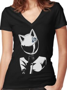 Celty Women's Fitted V-Neck T-Shirt