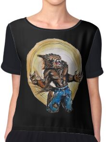 Werewolf Chiffon Top